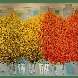 HANOI TREES IN MID-SUMMER