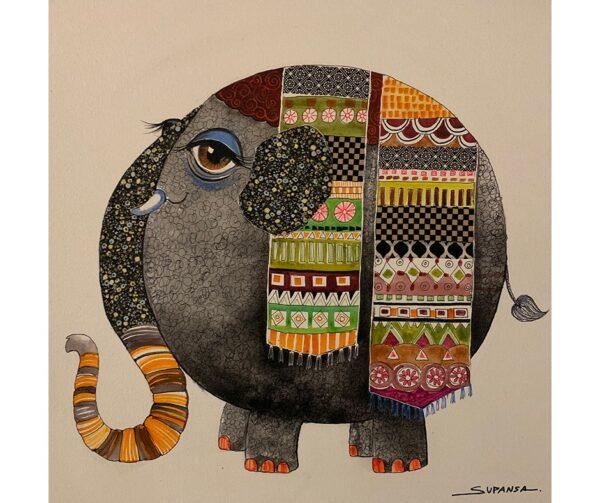 BIG EYE ELEPHANT